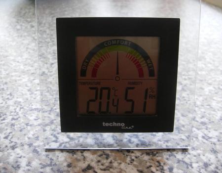 Luftfeuchtigkeitsmessgerät