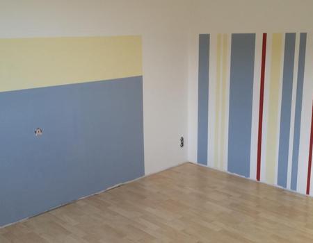 Jungenzimmer-Wandgestaltung
