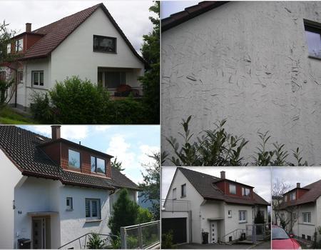 Fassadensanierung und Fassadenanstrich Objekt Nr. 1