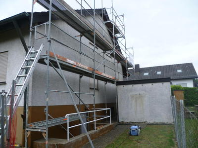 Fassadensanierung vorher