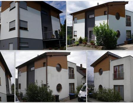 Fassadensanierung und Fassadenanstrich Objekt Nr. 2