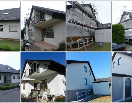 Fassadensanierung und Fassadenanstrich Objekt Nr. 3