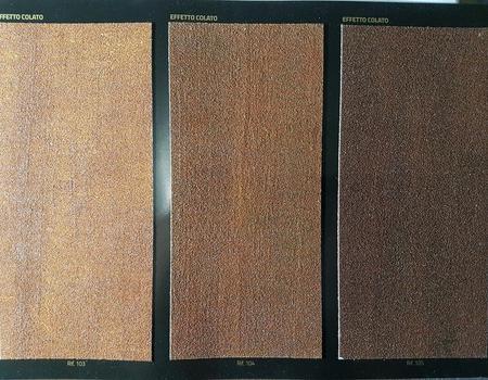 VALPAINT KLONDIKE CORTEN Farbtöne, fein strukturierte, dekorative Rosteffekte
